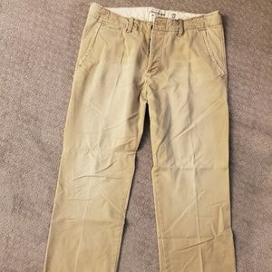 Abercrombie and Fitch classic khakis